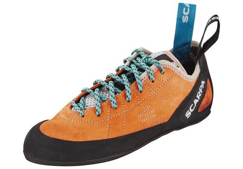 Scarpa Velocity L WMN Climbing Shoes Women light gray/truquoise 37 2017 Kletterschuhe B9F4Ew